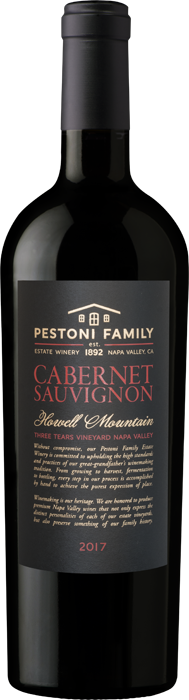 Product Image for 2017 Howell Mountain Estate Cabernet Sauvignon